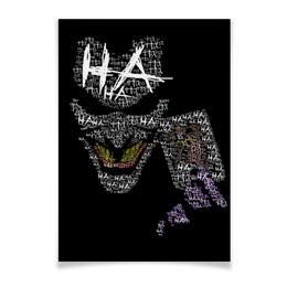 "Плакат A3(29.7x42) ""Джокер"" - комиксы, бэтмен, joker, batman, dc comics"