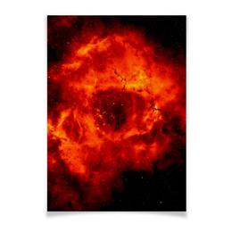 """Плакат A3(29.7x42) """"Space"""" - космос, технологии, наука, денис гесс, the spaceway"""