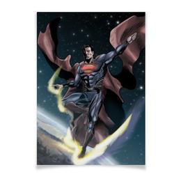 "Плакат A3(29.7x42) ""Супермен (Superman)"" - комиксы, superman, супермэн, dc comics, супс"