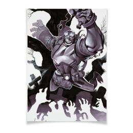 "Плакат A3(29.7x42) ""Хеллбой"" - комиксы, демон, hellboy, хеллбой, dark horse comics"