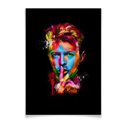 """Плакат A3(29.7x42) """"Дэвид Боуи"""" - музыка, дэвид боуи, боуи, david bowie, bowie"""