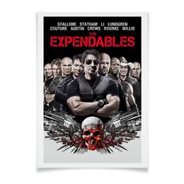 """Плакат A3(29.7x42) """"Неудержимые"""" - кино, неудержимые, expendables, сильвестр сталлоне, sylvester stallone"""