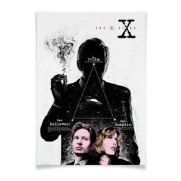 "Плакат A3(29.7x42) ""Секретные материалы / The Х-Files"" - сериал, x-files, постер, секретные материалы, want to believe"