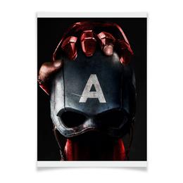 "Плакат A3(29.7x42) ""Победа Старка"" - stark, civil war"