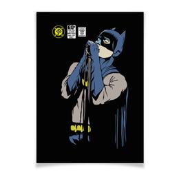 "Плакат A3(29.7x42) ""Бэтмен Иэн Кёртис"" - batman, joy division, бэтмен, ian curtis, иэн кёртис"