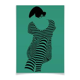 """Плакат A3(29.7x42) """"""""Раздвоение личности"""""""" - настроение, оригинальный, хеллоуин, стройность, раздвоение личности"""