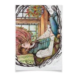 "Плакат A3(29.7x42) ""Френк (Эмма)"" - парень, фан-арт, джеин остин"