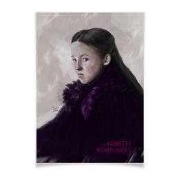"""Плакат A3(29.7x42) """"Игра Престолов: Лианна Мормонт"""" - игра престолов, фэн-арт, game of thrones, лианна мормонт, lyanna mormont"""