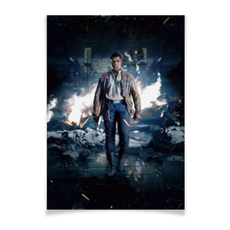 """Плакат A3(29.7x42) """"Звездные войны - Финн"""" - звездные войны, фантастика, кино, дарт вейдер, star wars"""