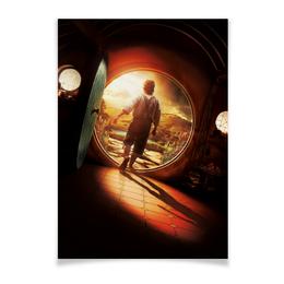 """Плакат A3(29.7x42) """"Хоббит"""" - кино, властелин колец, hobbit, фродо, бильбо"""