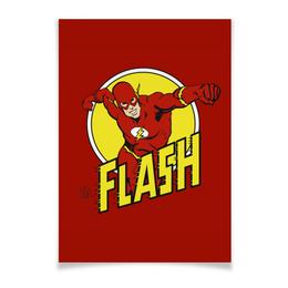 """Плакат A3(29.7x42) """"Флэш """" - flash, комиксы, супергерои, флэш"""