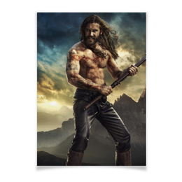 """Плакат A3(29.7x42) """"Викинги. Сериал"""" - viking, vikings, викинги, путь воина, сериал"""