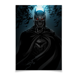 "Плакат A3(29.7x42) ""Бэтмен"" - комиксы, бэтмен, dc, dc comics, batman"
