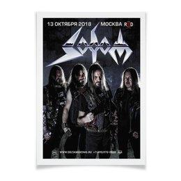 "Плакат A3(29.7x42) ""Sodom"" - календарь"
