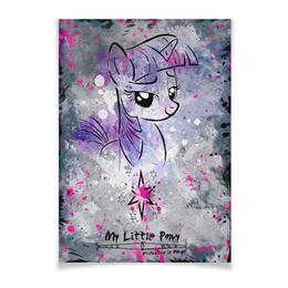 "Плакат A3(29.7x42) ""My Little Pony Twilight Sparkle Poster"" - pony, mlp, my little pony, twilight sparkle"