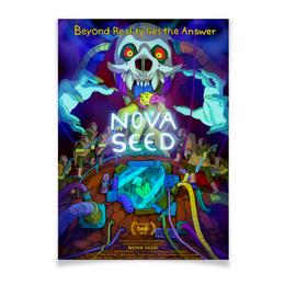 "Плакат A3(29.7x42) ""Nova Seed"" - мультфильм, мульт, научная фантастика, постер, nova seed"