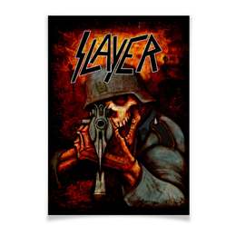 "Плакат A3(29.7x42) ""Slayer Band"" - рок музыка, рок группа, slayer, thrash metal, трэш метал"