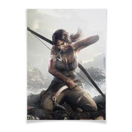 """Плакат A3(29.7x42) """"Tomb Raider"""" - игры, tomb raider"""