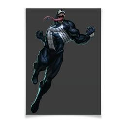 """Плакат A3(29.7x42) """"Venom / Веном"""" - venom, marvel, spiderman, человек-паук, веном"""