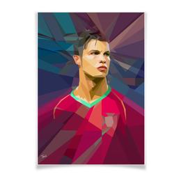 "Плакат A3(29.7x42) ""Роналдо"" - реал, португалия, роналдо"