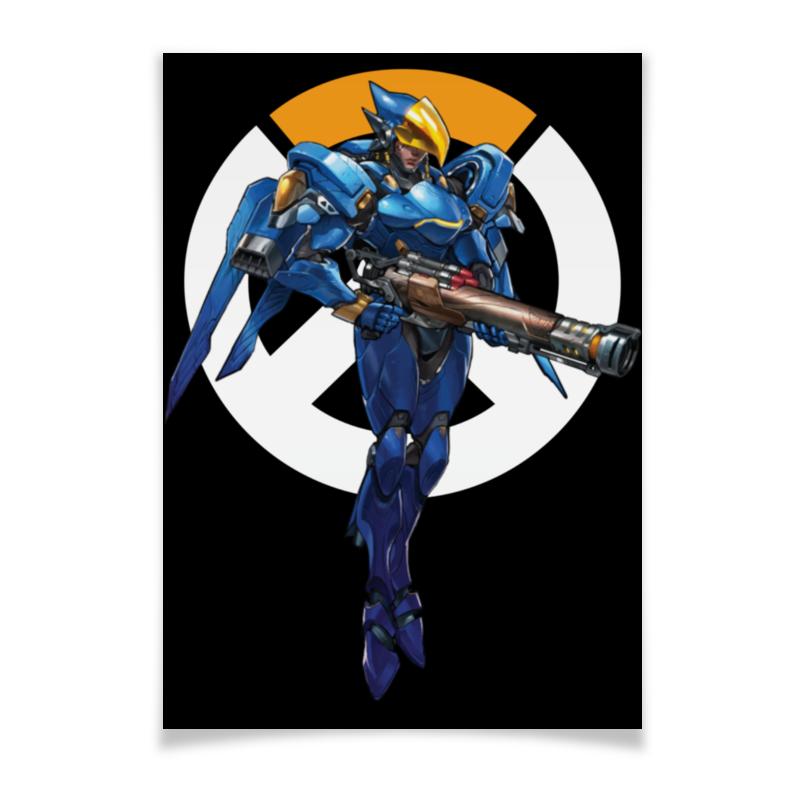 Плакат A2(42x59) Printio Pharah overwatch / фарра овервотч плакат a2 42x59 printio противостояние