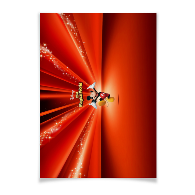 Плакат A2(42x59) Printio Микки маус плакат a2 42x59 printio драко малфой