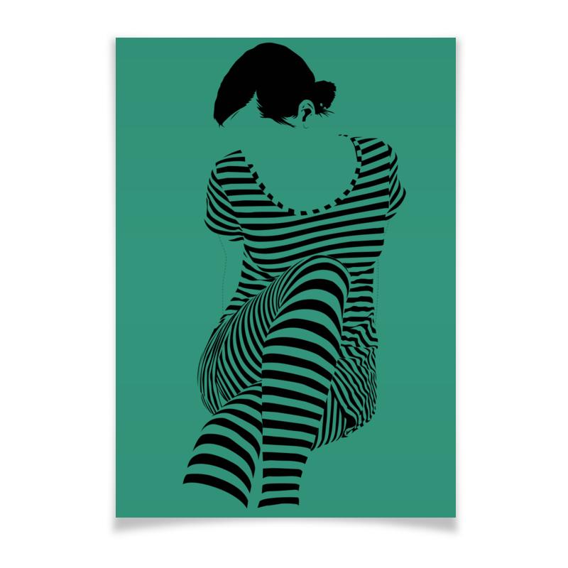 Плакат A2(42x59) Printio раздвоение личности