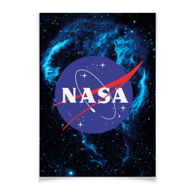 Плакат A2(42x59) Printio Nasa | наса