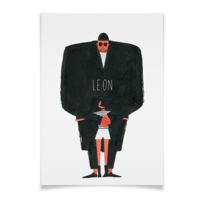 Плакат A2(42x59) Printio Леон / leon плакат a2 42x59 printio противостояние
