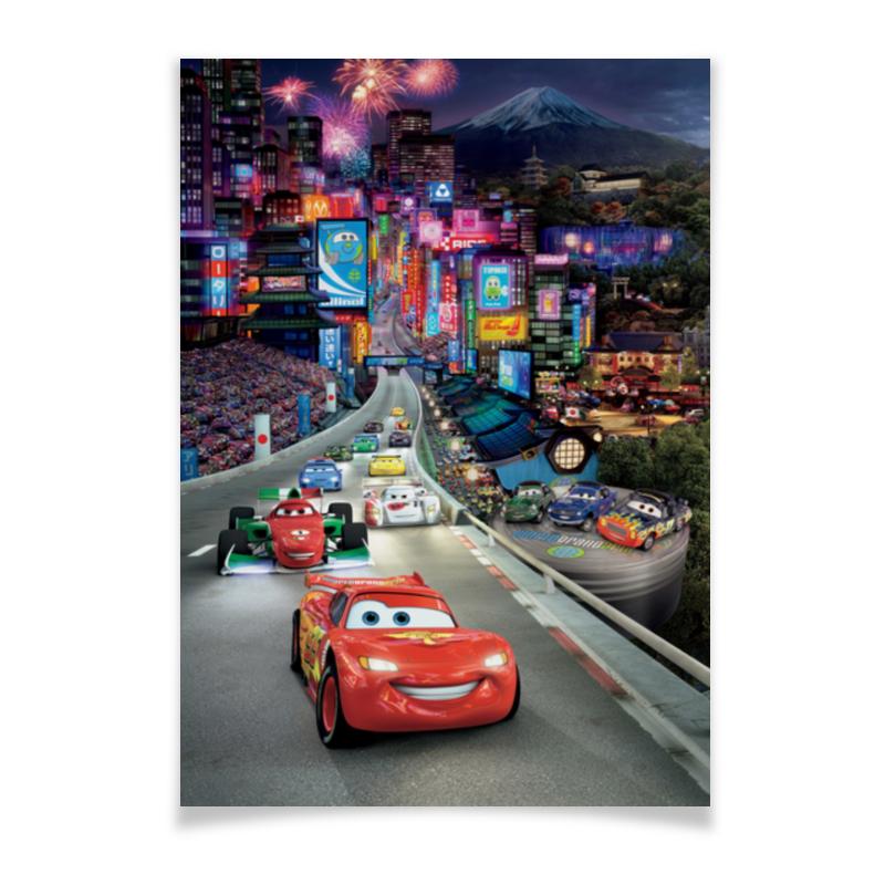Плакат A2(42x59) Printio Тачки плакат a2 42x59 printio силузт