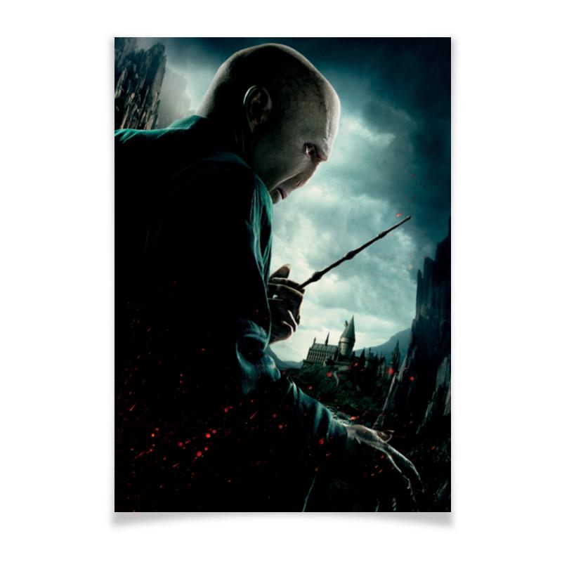 Плакат A2(42x59) Printio Волан-де-морт волан