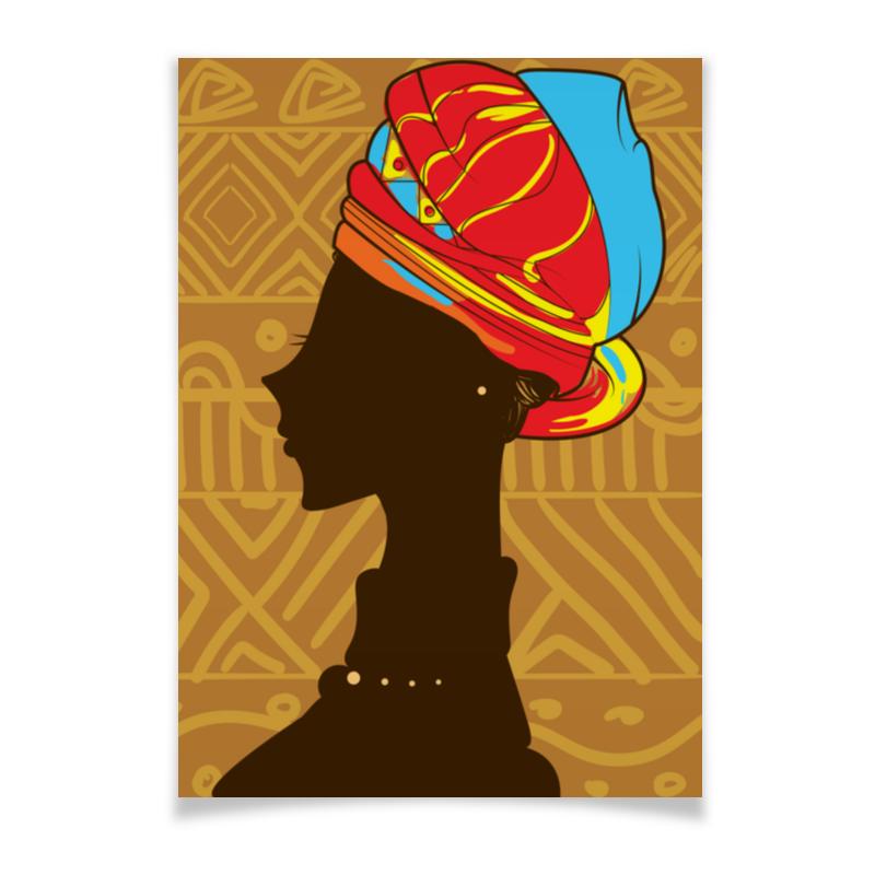 Плакат A2(42x59) Printio Африка плакат a2 42x59 printio силузт
