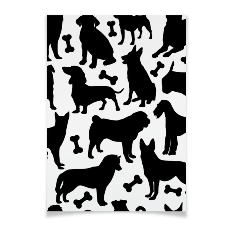Плакат A2(42x59) Printio Собаки плакат a2 42x59 printio тачки