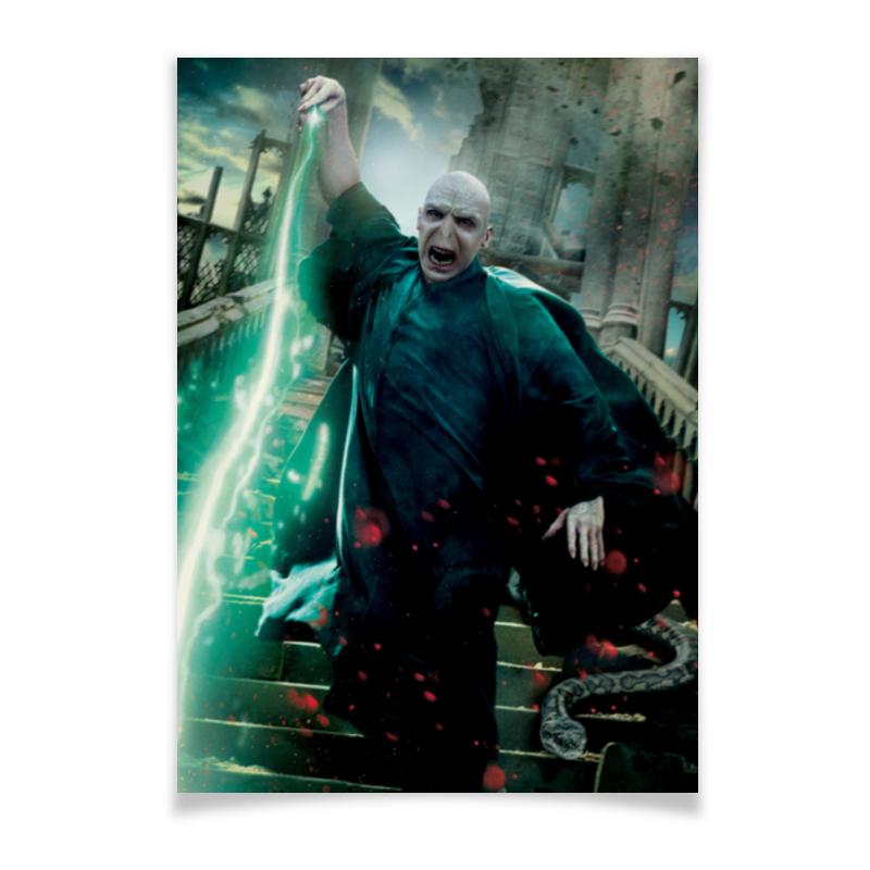 лучшая цена Плакат A2(42x59) Printio Волан-де-морт