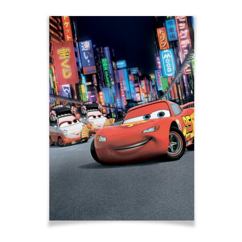 Плакат A2(42x59) Printio Тачки цены онлайн