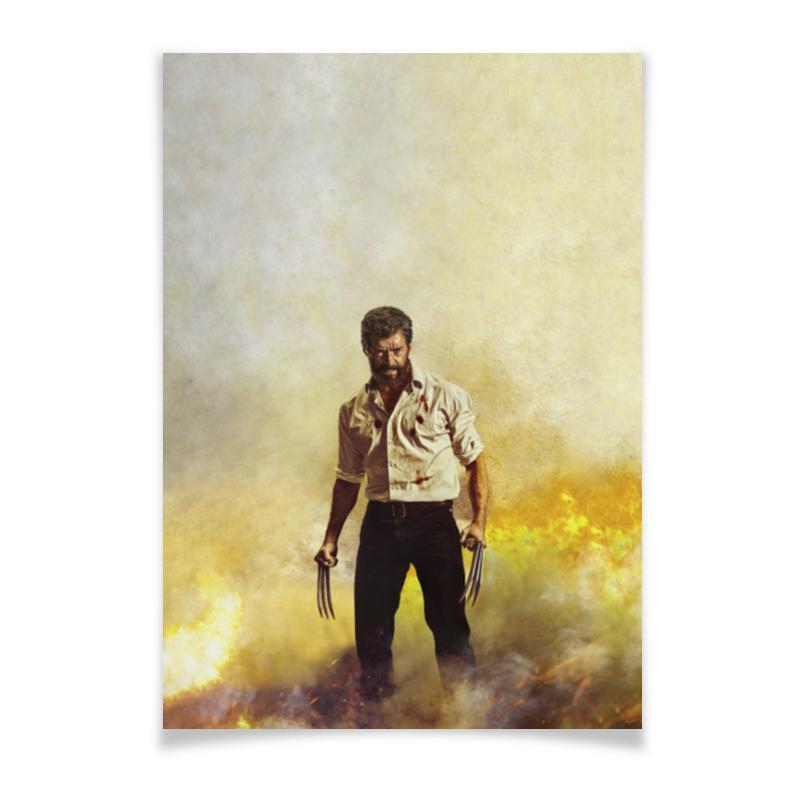 Плакат A2(42x59) Printio Логан плакат a2 42x59 printio барселона