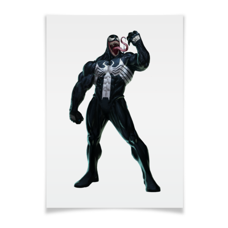 Плакат A2(42x59) Printio Venom / веном плакат a2 42x59 printio противостояние