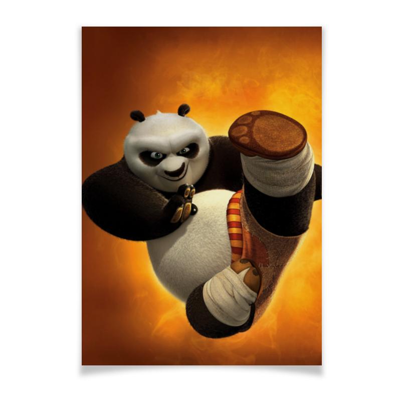Плакат A2(42x59) Printio Кунг-фу панда кунг фу панда2 blu ray