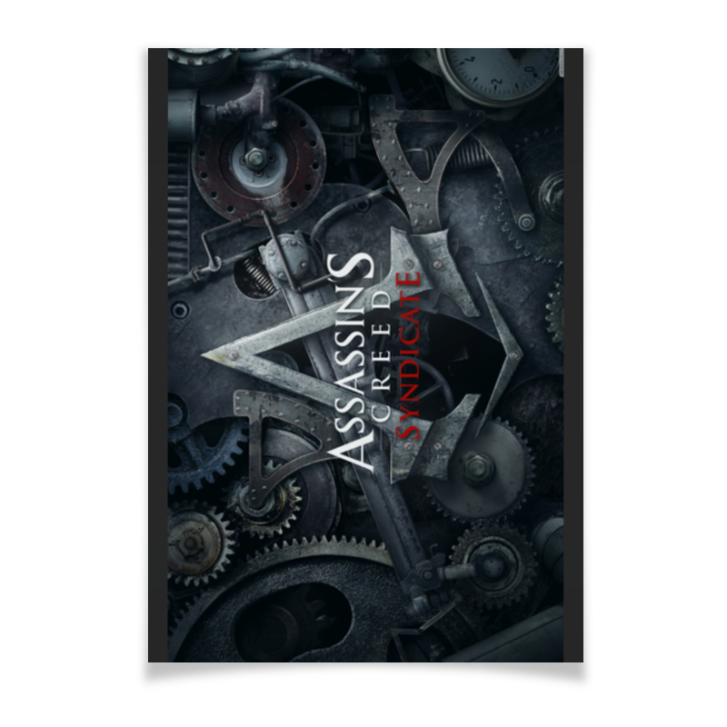 Плакат A2(42x59) Printio Assassins creed / крэдо убийцы