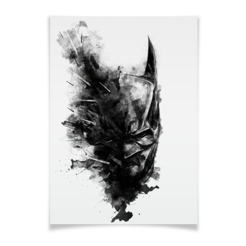 Плакат A2(42x59) Printio Бэтмен ягодный микс голубика малина смородина 150 г
