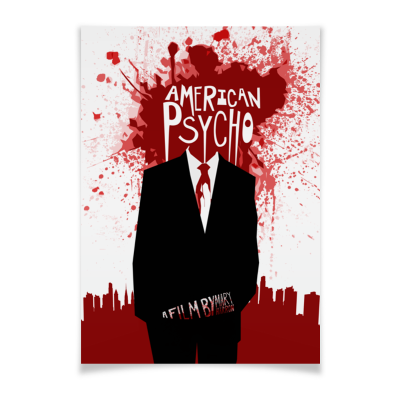 Printio Американский психопат / american psycho
