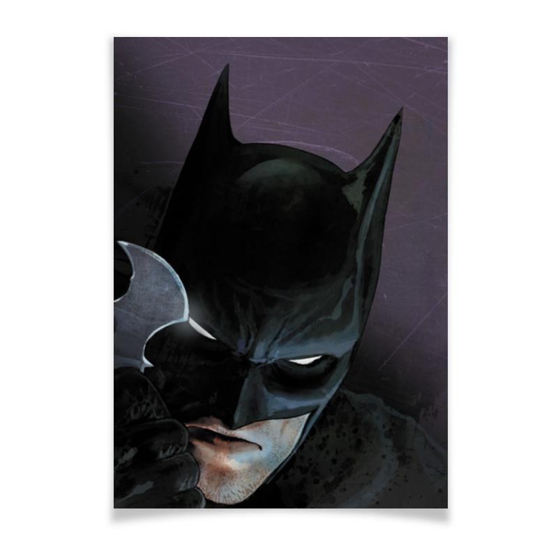 Плакат A2(42x59) Printio Бэтмен плакат a2 42x59 printio весёлый роджер jolly roger