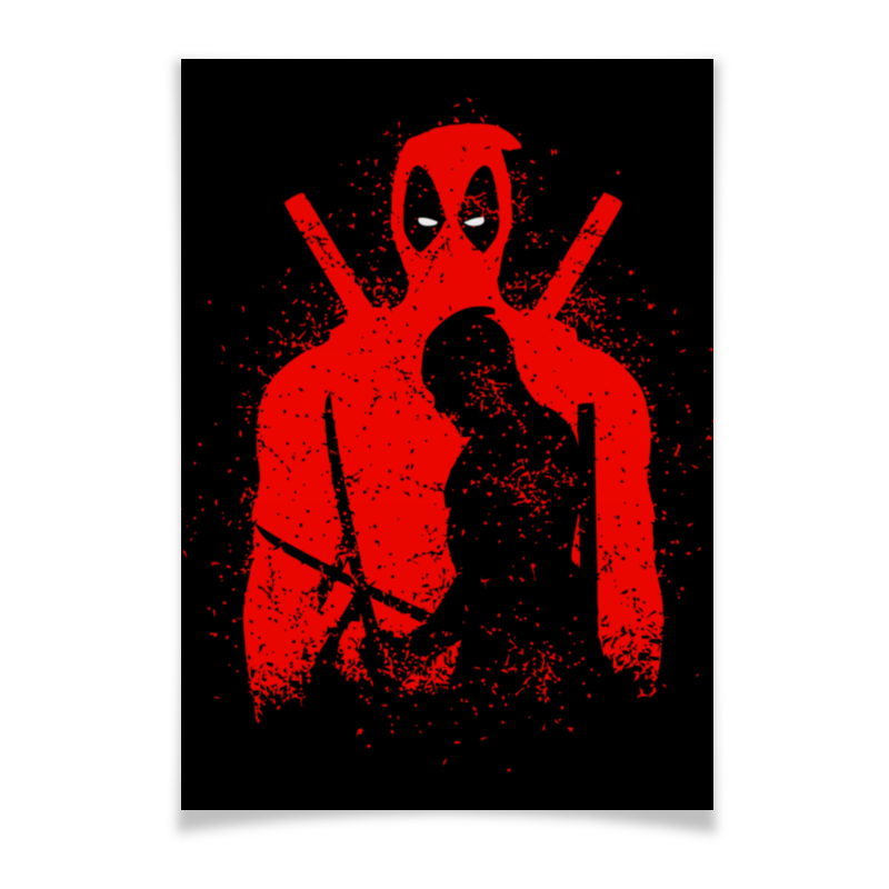Плакат A2(42x59) Printio Deadpool плакат a2 42x59 printio голлум