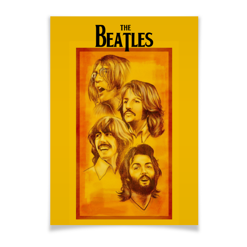 Плакат A2(42x59) Printio The beatles desktop diy laser engraver cutter engraving machine assemble kit 17x20cm