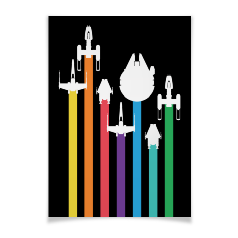 Плакат A2(42x59) Printio Star wars / звездные войны плакат a2 42x59 printio драко малфой