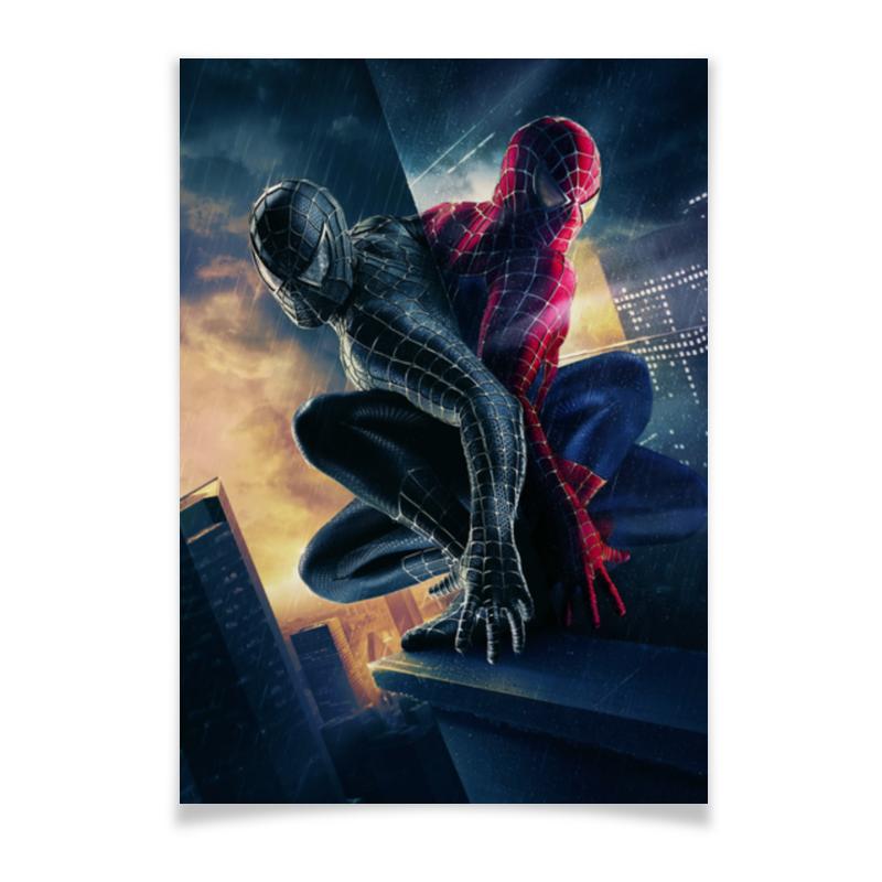 Плакат A2(42x59) Printio Человек - паук плакат a2 42x59 printio чак берри