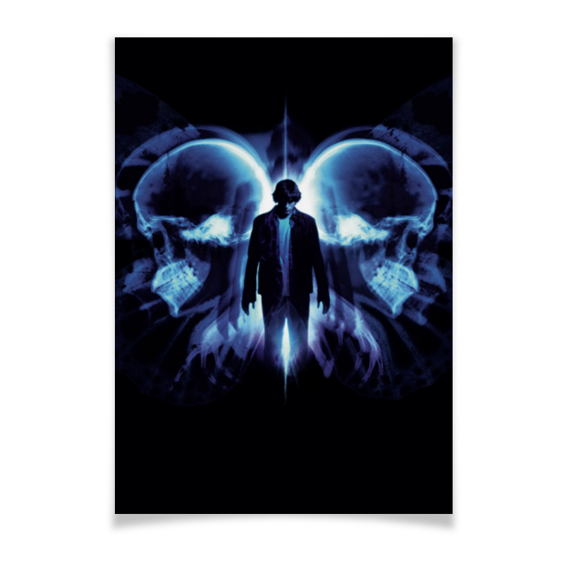 Плакат A2(42x59) Printio Эффект бабочки плакат a2 42x59 printio фреди меркури
