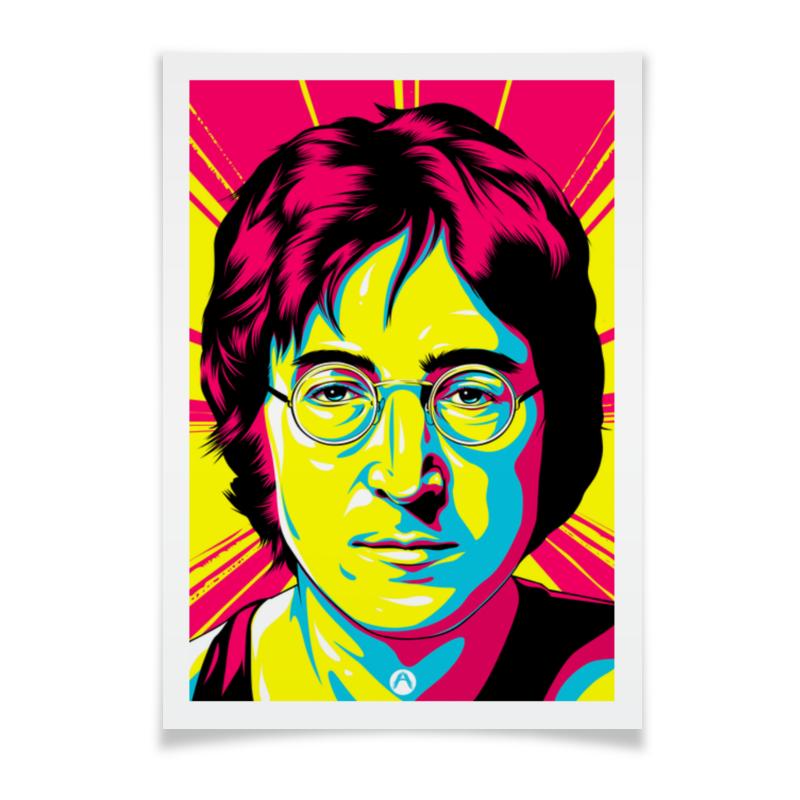 Плакат A2(42x59) Printio Джон леннон плакат a2 42x59 printio мистический арт