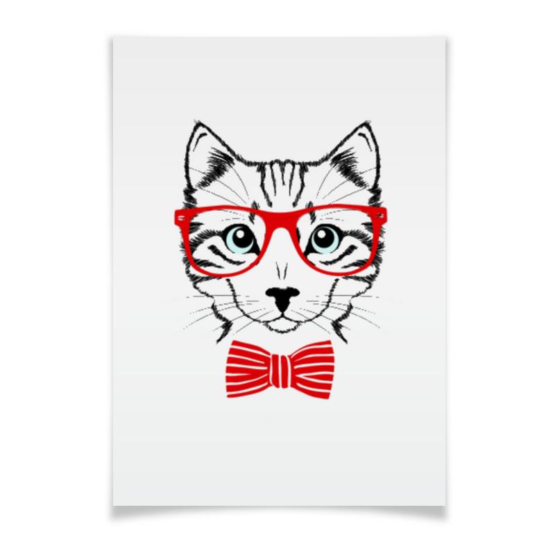Плакат A2(42x59) Printio Кошка андрей дашков домашнее животное