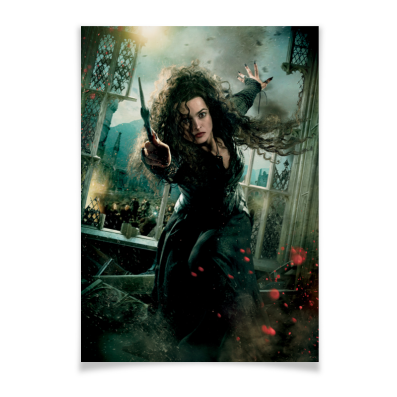 Плакат A2(42x59) Printio Беллатриса плакат a2 42x59 printio весёлый роджер jolly roger